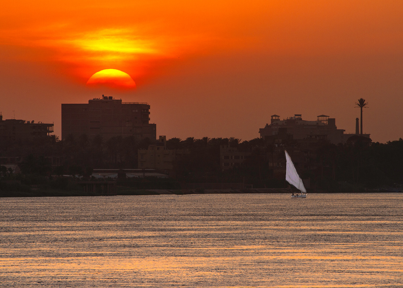 Sunset Across the Nile