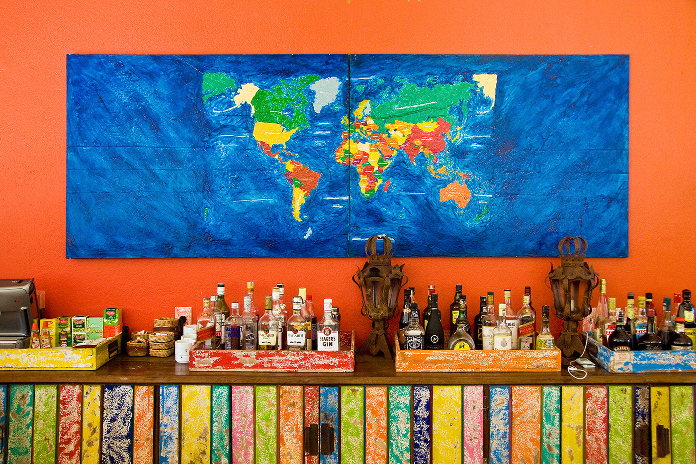 The Bar of Many Colours
