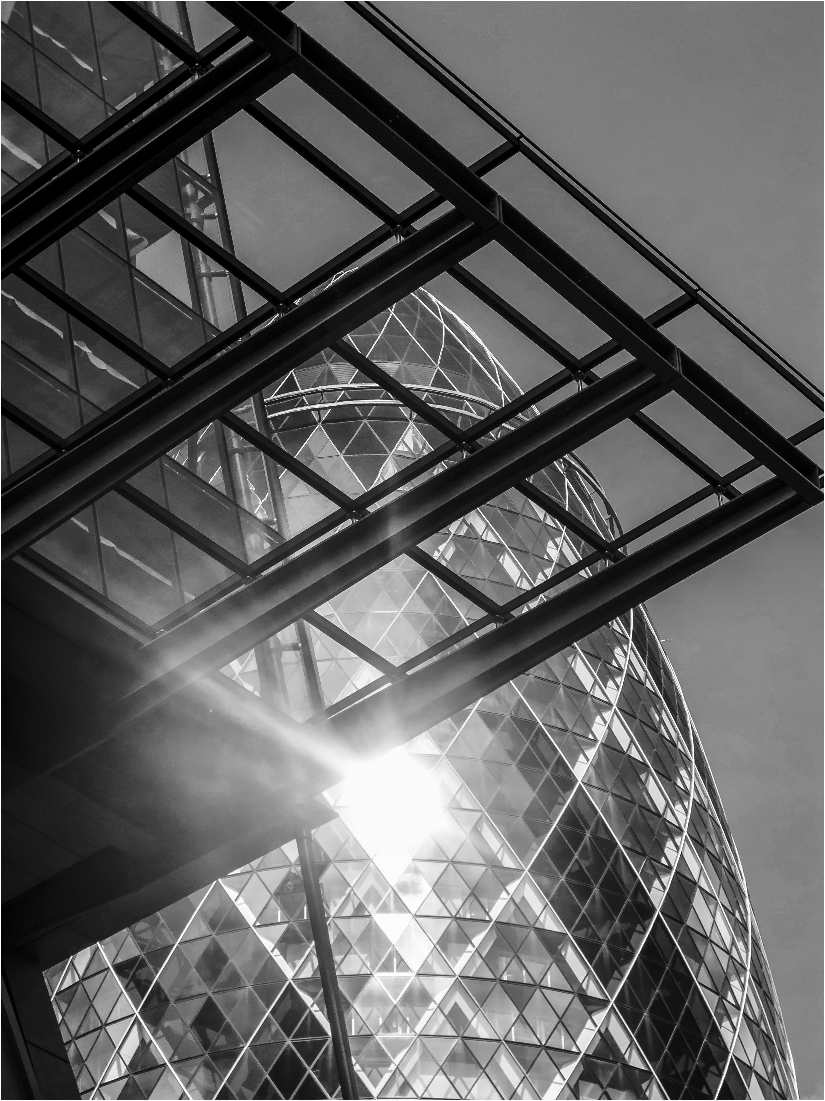 Cheesgrater and Gherkin