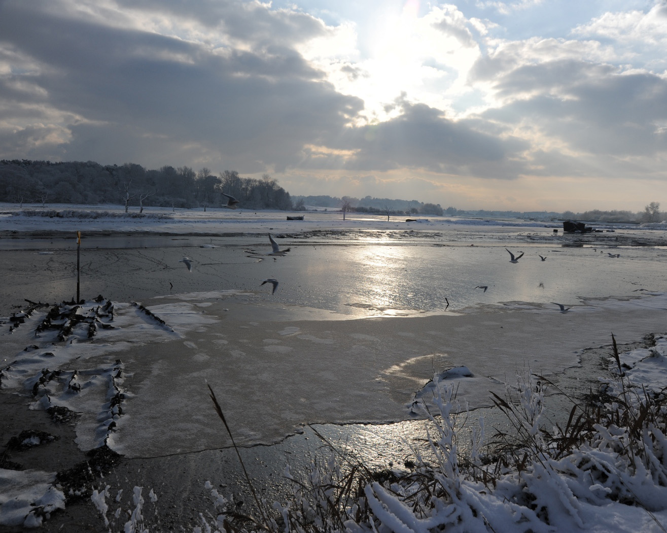 The Deben in Winter