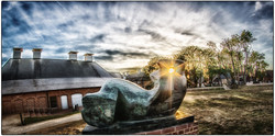 Henry Moore Enters the Twilight Zone