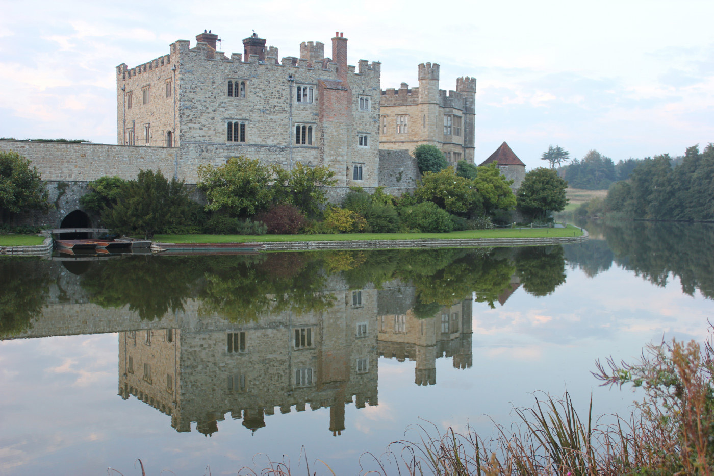 Reflection of Leeds Castle