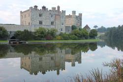 Reflection of Leeds Castle