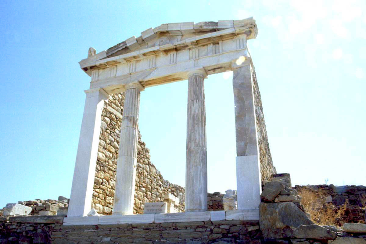 Delos - Temple of Isis