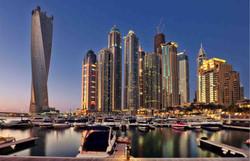 Twisted Tower in Dubai Marina Walk