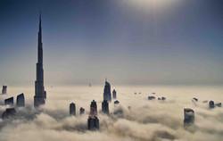 Burj Khalifa at Winter