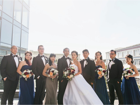 Elegant Downtown Wedding 9.3.2016