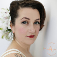 Andrea:glamour:vintagehair:seattlebride: