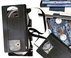 Broken and moldy tapes.jpg