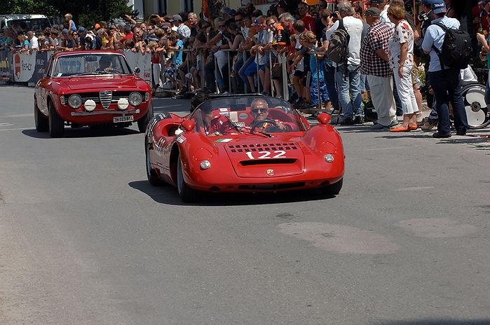 Ferrari 212 Inter Vignale uit 1952 (s/n 0205EL), met Alexander & Chantal Senft (CH)