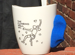 Custom rock climbing mugs