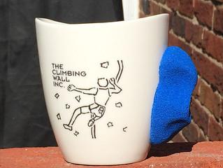 Custom rock climbing mugs