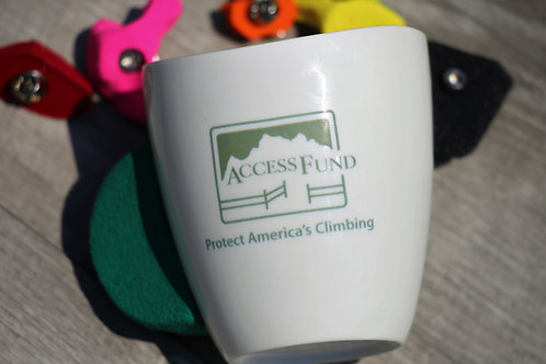 Access Fund Donation, Climbing mug