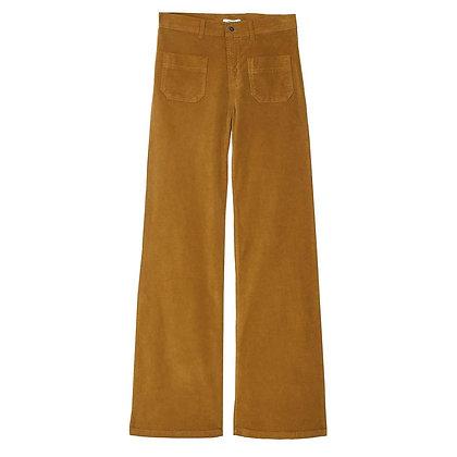 Pantalon flare en velours écorce - Emile et Ida