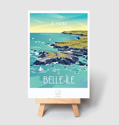 Carte Postale La Loutre - Belle île