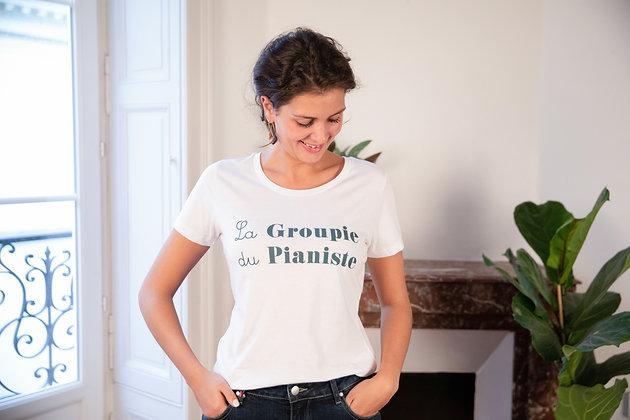 T-shirt La Groupie du Pianiste