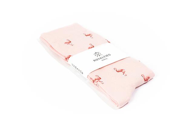 Chaussettes Flamingo Poudre Royalties