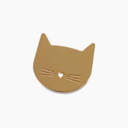 Pin's Tête de Chat