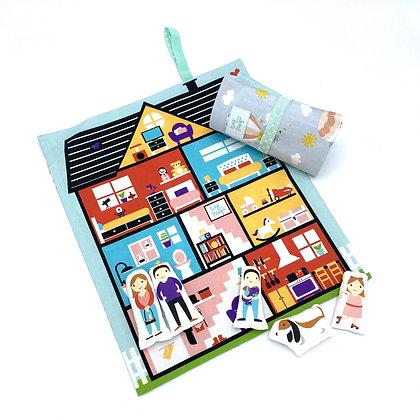 Tapis nomade maison de poupée - Tiny Magic