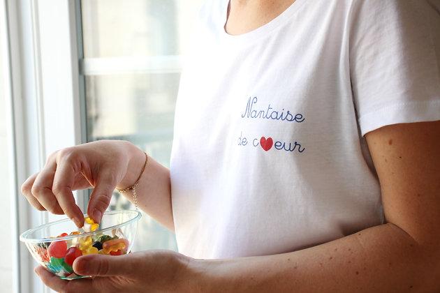 T-shirt Nantaise de coeur