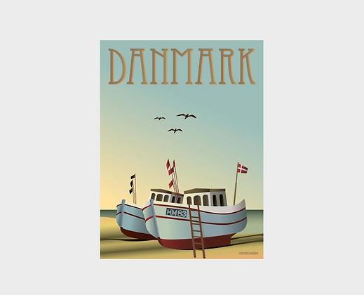 Affiche Vissevasse Danemark