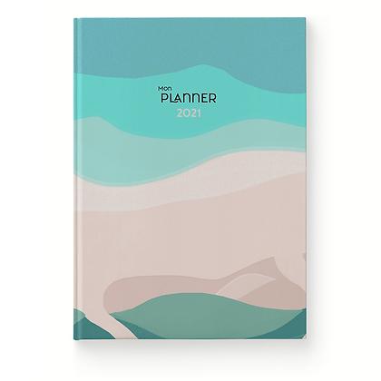 Planner 2021 Plage - Histoire d'écrire