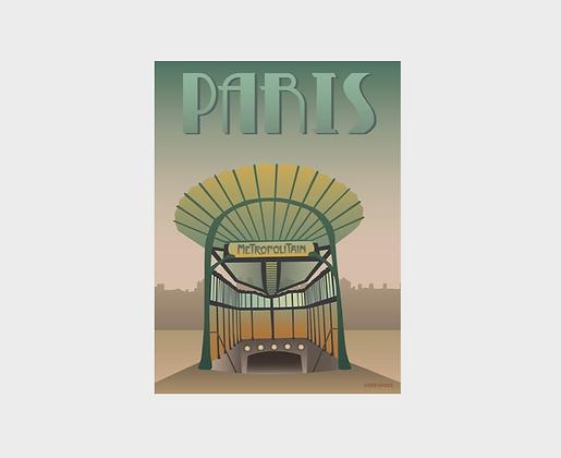 Affiche Vissevasse Paris