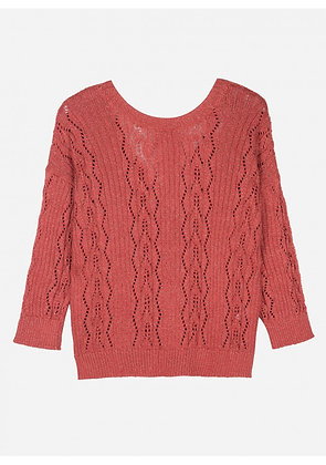 Pull Lanzo brique - An'ge