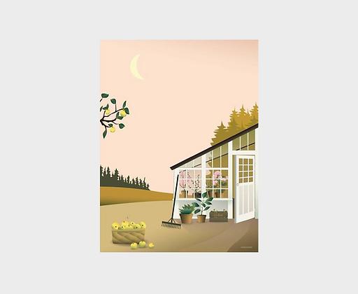 Affiche Vissevasse Jardin