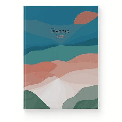 Planner 2021 Fjord - Histoire d'écrire