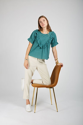 Blouse Chiara verte - Andy&Lucy
