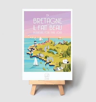 Carte Postale La Loutre - Bretagne