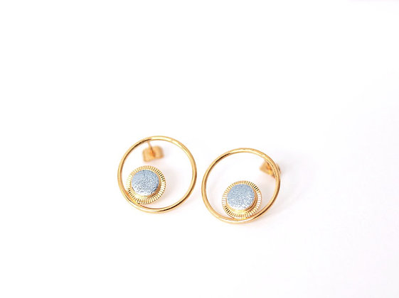 Puces Maou Ring bleu princesse - Fosseth