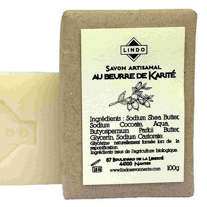 Savon au beurre de karité - Lindo