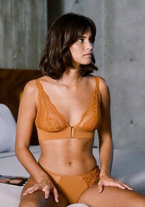 Triangle Jasmin caramel - Icône Lingerie