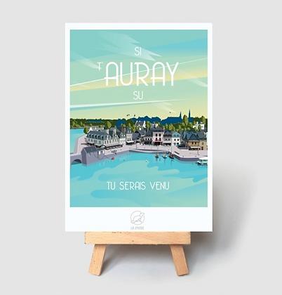 Carte Postale La Loutre - Auray
