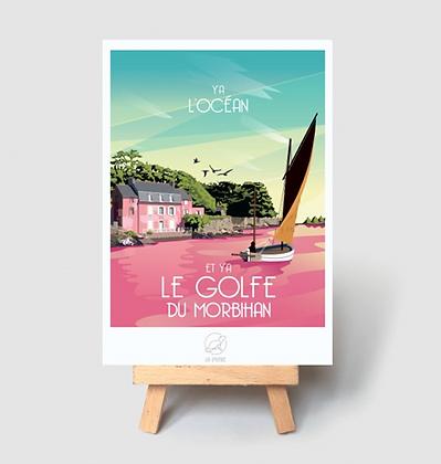 Carte Postale La Loutre - Golfe du Morbihan