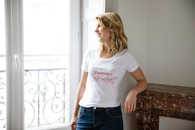 T-shirt Fille du Printemps