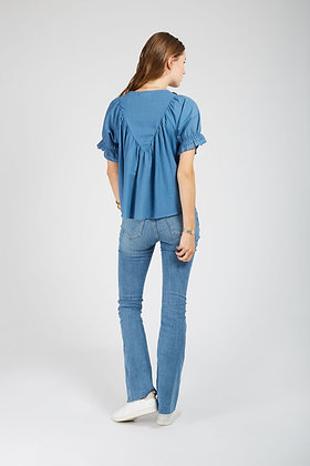 Blouse Chiara bleue - Andy&Lucy