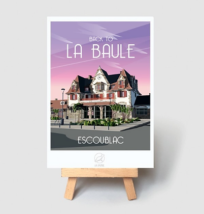 Carte Postale La Loutre - La Baule