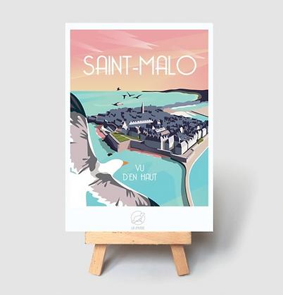 Carte Postale La Loutre - Saint Malo