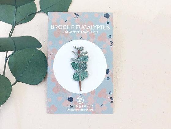 Pin's Eucalyptus - Green&Paper