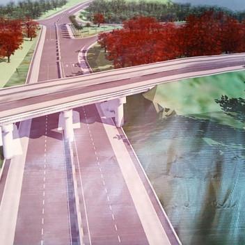Route Yaounde-Bafoussam-Babadjou : un échangeur futuriste se dessine au carrefour Obala