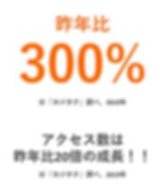 カジタクECサイトアクセス成長.JPG.jpg