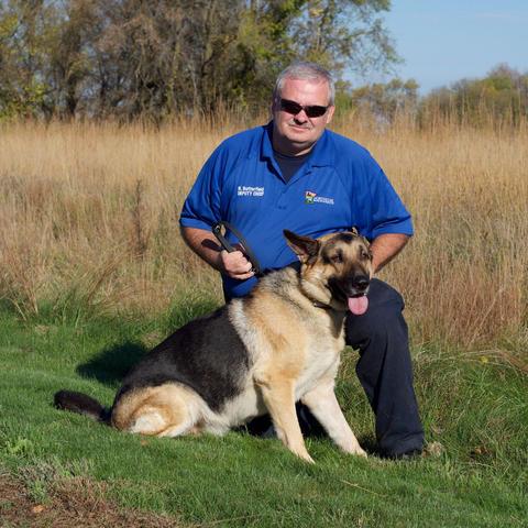 Deputy Chief Ross & K9 Bosco