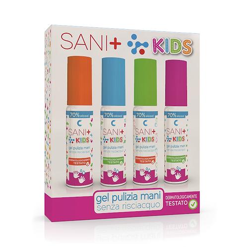 ASTUCCIO SANI+ KIDS 25ml - 4pz. (€ 13,90 IVA inclusa)