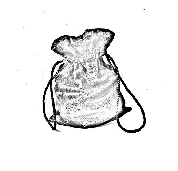 borsa a sacchetto in pelle
