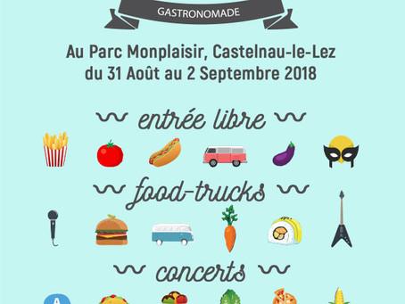 Sushibox au Wild Food Market à Castelnau du 31 aout au 2 septembre 2018