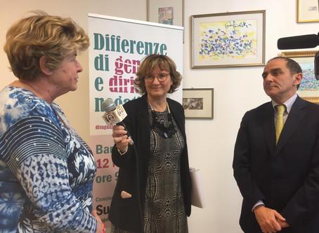Differenze di genere e diritti negati: Susanna Camusso all'Università di Bari