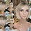 Thumbnail: Ash Blonde Chop Bobbed Fibre Wig